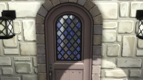 Entry alcove