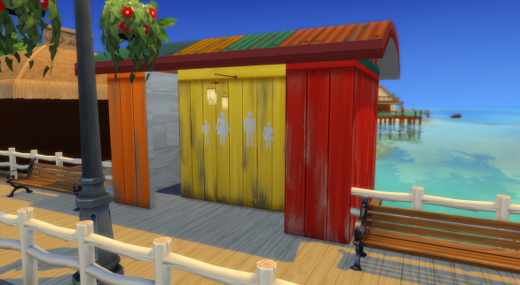 Bathrooms (includes toddler potty and tub just in case!)