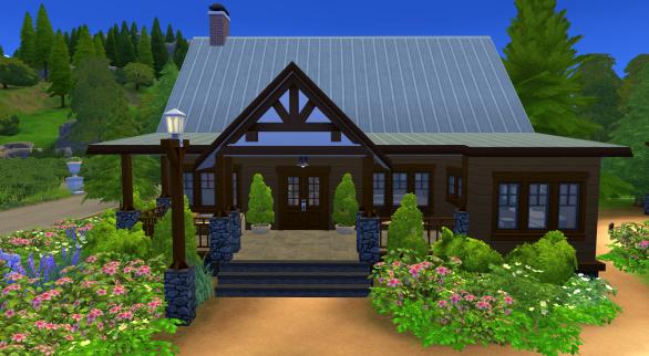 Counselors' cabin