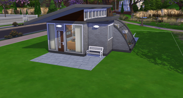 A 32 tile modern home with some sneaky space.